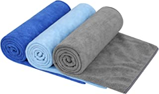 KSolars Sport Towel Travel Towel by 100% Microfiber Hand Towel - Gym Towel - Beach Towel - Ultra-Light & Fast Drying 16 Inch X 32 Inch 3 Park
