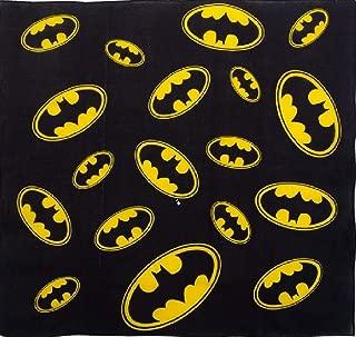 Bandanna Batman Logo Motif ~ Wearable Art 100% Cotton