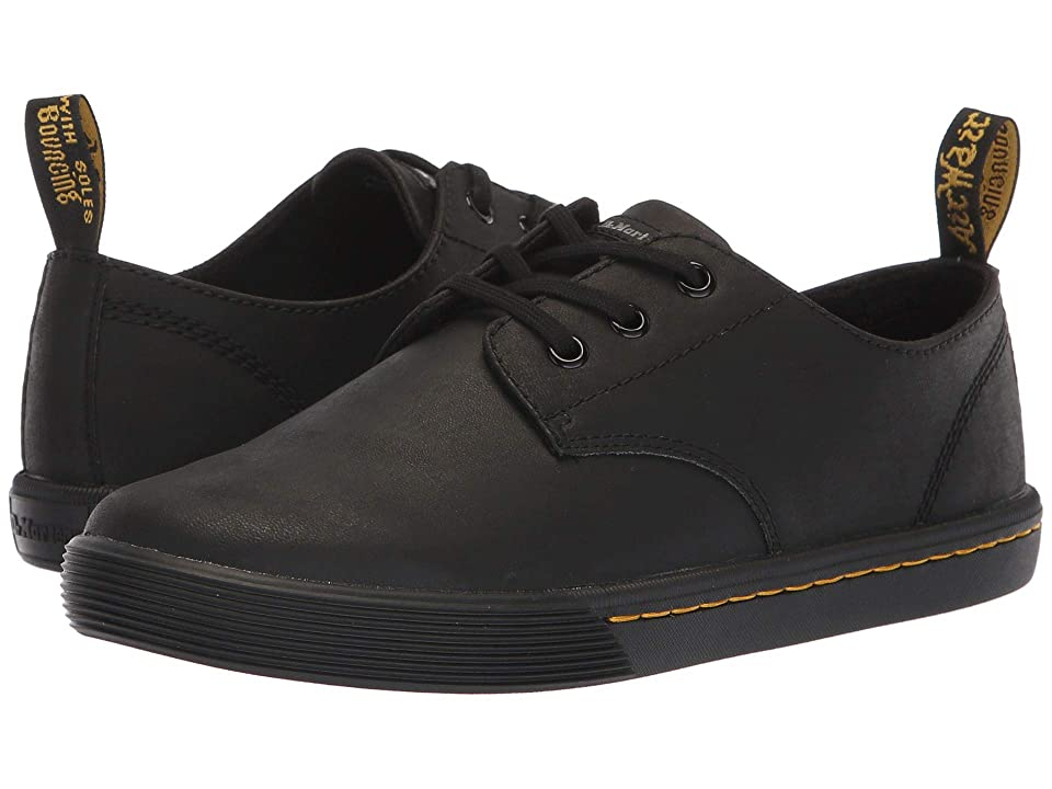Dr. Martens Santanita Octavo (Black Mohawk Non Woven Synthetic) Women