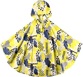 Children Backpack Raincoat Hooded School Lightweight Ponchos