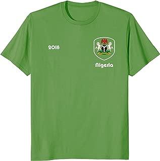 Nigeria Soccer shirt Team Nigeria2018 TShirt Football