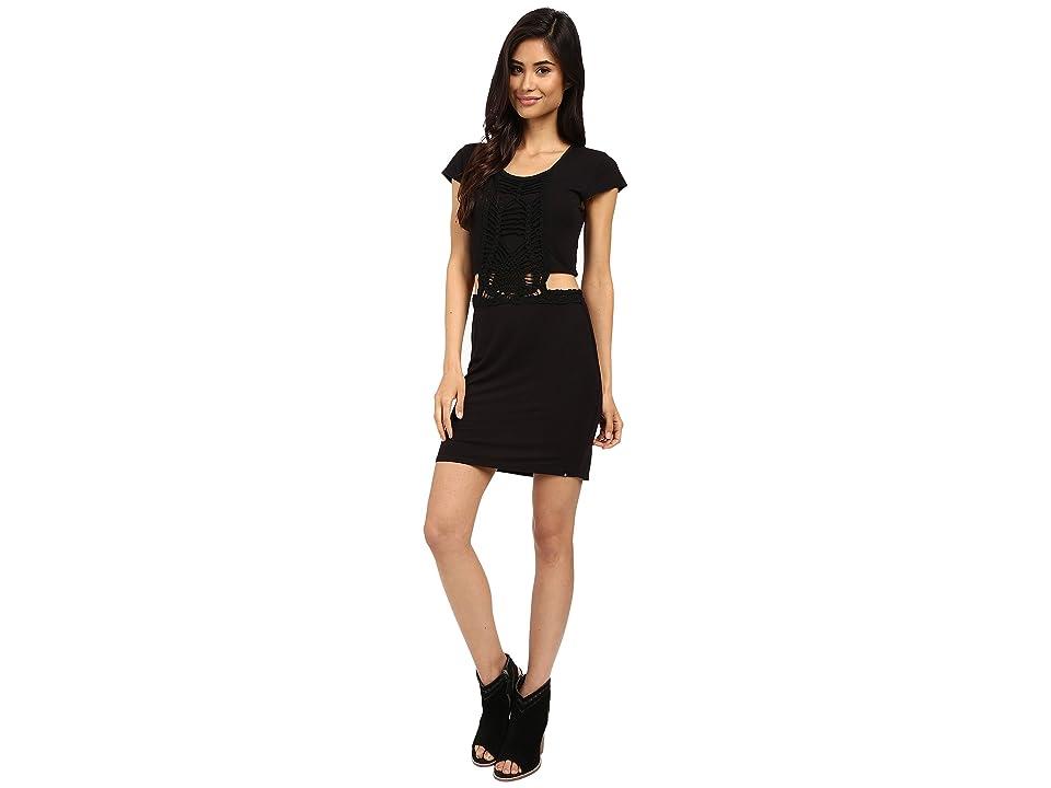 Volcom Suga Glider Dress (Black) Women