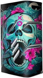 Skin Decal Vinyl Wrap for Smok T-Priv Vape stickers skins cover/ Skull Dia De Los Muertos Design Bird
