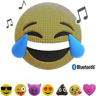 Jam Audio Jamoji LOL Emoji Portable Bluetooth Speaker, Perfect Stocking Filler, Wireless, 6hrs Battery Life, Speakerphone, Integrated Stand