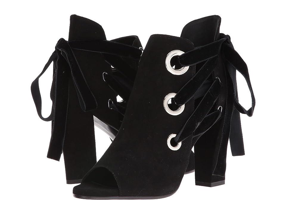ASKA Honor (Black Suede) High Heels