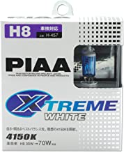 PIAA 18235 H8 Xtreme White Plus High Performance Halogen Bulb, (Pack of 2)