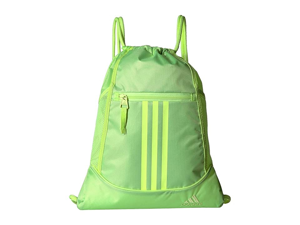 836a097ce adidas Alliance II Sackpack (Hi-Res Yellow) Backpack Bags - 6pm.com -  imall.com