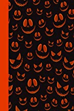 HALLOWEEN NOTEBOOK: Black/orange notebook to write in, halloween lined pages, contrasting printed spine, perfect halloween...