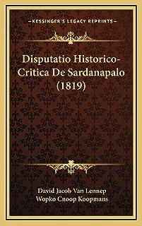 Disputatio Historico-Critica De Sardanapalo (1819)