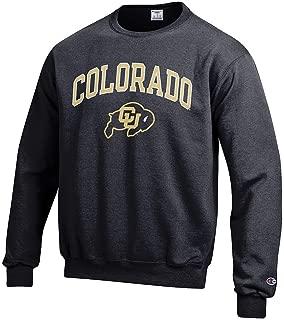 Elite Fan Shop NCAA Men's Team Color Crewneck Sweatshirt Arch