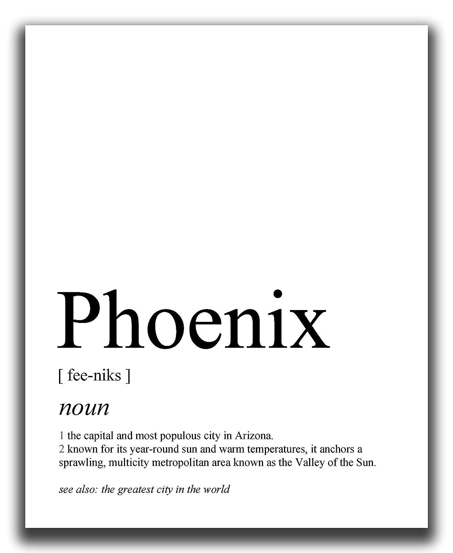 Phoenix Wall excellence Decor - 8x10