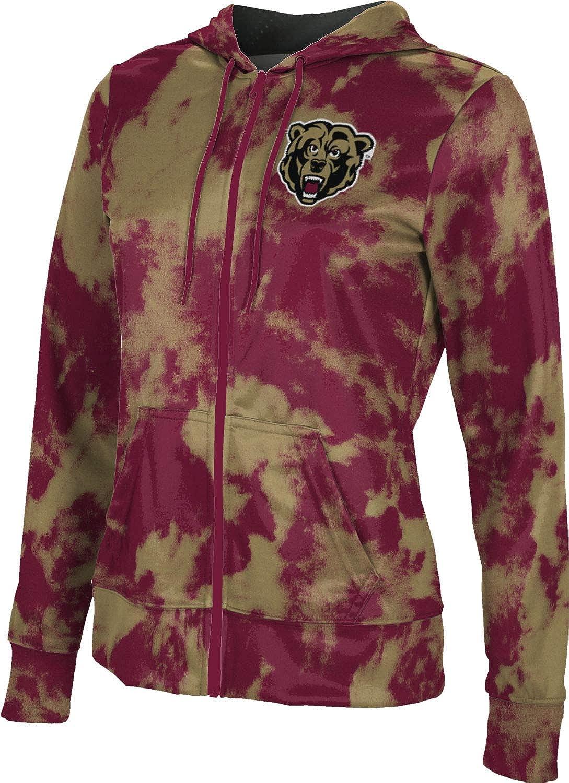 ProSphere Kutztown University Girls' Zipper Hoodie, School Spirit Sweatshirt (Grunge)