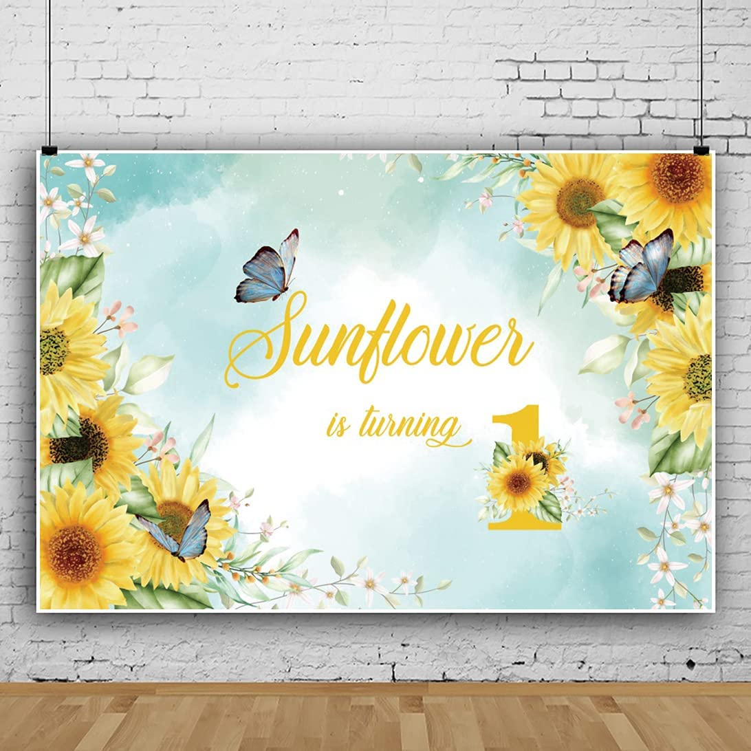 Yeele Sunflower is Turning Outlet ☆ Free Shipping One Trust Backdrop Vi for Photo 9x6ft Shoot