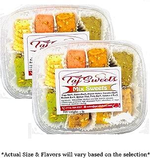 Taj Sweets - Fresh Indian Sweets Mithai - Ships Fresh (Motichoor Laddoo, 4 lbs)