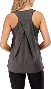 Harewom Workout Sleeveless Tank Top for Women Yoga Sports Athletic Gym Activewear Tops