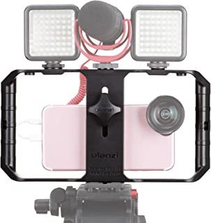 Smartphone Video Rig, Video Recording Cell Phone Stabilizer for iPhone 11 Pro Max XS Max X 8 7 6 Plus One Plus Pro Max X X...