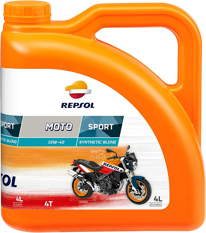Repsol Motorenöl Für Motorrad Moto Sport 4t 10w 40 4l Auto