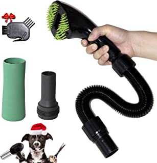 Forest Pet Vacuum Grooming Brush Hair Shedding Deshedding Deshedding ابزار پیوست ابزار مناسب برای سگها و گربه ها