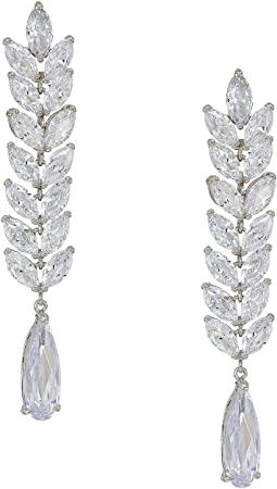 Cascading Long Drop Earrings