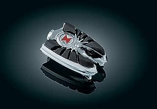 Kuryakyn 4492 Motorcycle Footpegs: Widow Spider Pegs without Adapters, Chrome, 1 Pair
