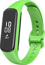 ANCOOL Compatible with Samsung Galaxy Fit E Band,Soft Silicone Strap Replacement Sport Wristband for Samsung Galaxy Fit E MIL-STD-810G Fitness Smartwatch -Green