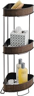 InterDesign シャワー スタンド ラック 風呂 バスルーム用 3段 Twillo ブロンズ 33880EJ