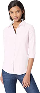 women's wrinkle free button-down shirts