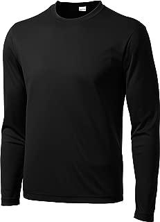 Competitor Performance Long-Sleeve T-Shirt. ST350LS - XL - Black