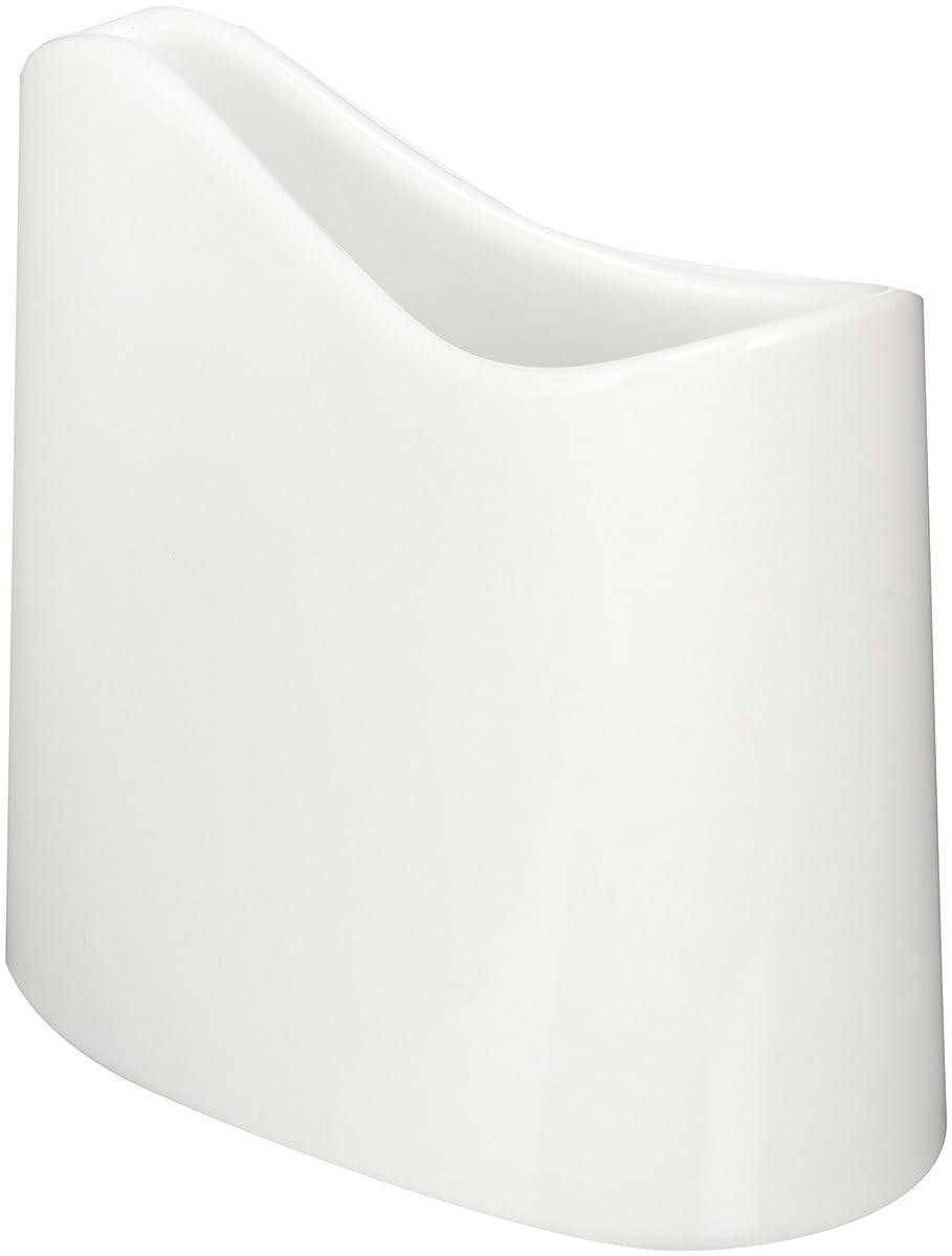 マインドポスター資本主義白山陶器 しゃもじたて 白 (約)12.5×6.5×11.5cm  ポケット POCKET 波佐見焼 日本製