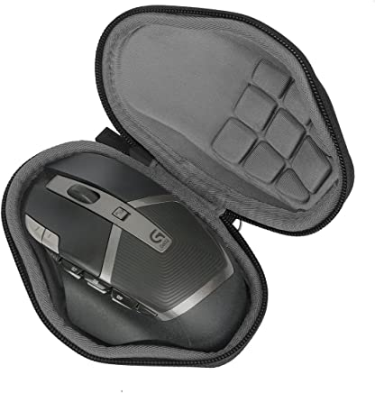 Hard Travel Case for Logitech G602 Lag-Free Wireless Gaming Mouse by co2CREA