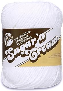 Sugar'N Cream Yarn - Solids-White