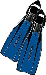 Cressi Pro Light Aletas, Unisex, Negro/Azul, M/L