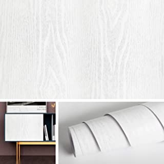 Livelynine Wood Wallpaper Stick and Peel Wood Grain Wall Paper Self Adhesive Shelf Liners for Kitchen Cabinets Counter Top Covers Peel and Stick Backsplash for Kitchen Wall Decorations 15.8x78.8 Inch