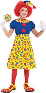 Forum Novelties Circus Clown Girl Costume, Child Large