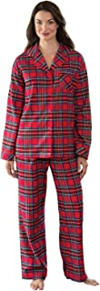 Womens Pajama Sets Flannel - Cozy Ladies Pajamas