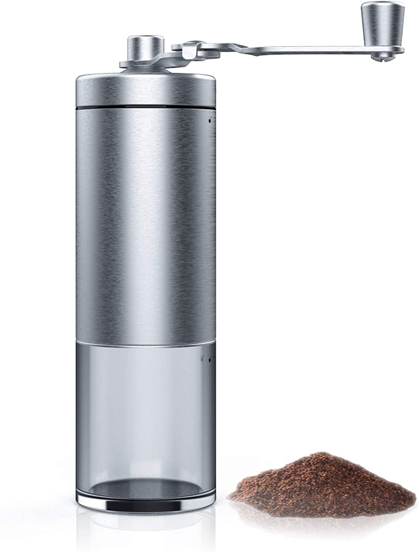KITESSENSU Adjustable Manual Don't miss the campaign Coffee Ceramic Grinder Industry No. 1 Crank Hand