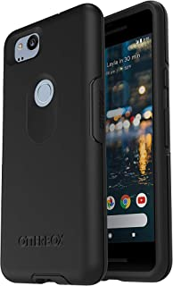 OtterBox Symmetry Series Case for Google Pixel 2 (NOT XL) Non-Retail Packaging - Black