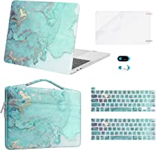 MOSISO Compatible with MacBook Pro 13 inch Case 2016-2020 A2338 M1 A2289 A2251 A2159 A1989 A1706 A1708, Plastic Watercolor...