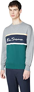 Ben Sherman Colour Blocked Logo Sweat