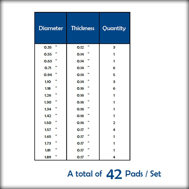 42 Zapatillas en cuero para Saxofón Alto Soundman® Resonadores en ...