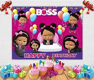 black boss baby girl