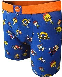 Nickelodeon Cartoon TV Characters Blue Boxer Brief