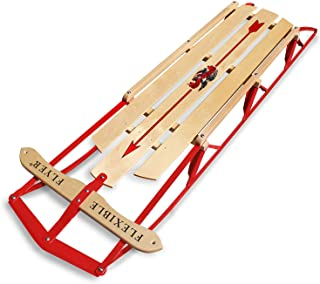 Best wooden snow sleds Reviews