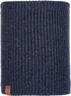BUFF, Lyne Night Blue, gebreide nekwarmer voor heren, one-size