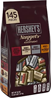 HERSHEY'S Nuggets Assortment, Holiday Chocolate Candy Gift, 52 Ounce Bag