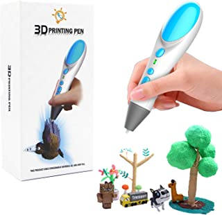 3D Printing Pen,3D Printer Pen Creative Drawing Pen for Kids Children Gift Present,Free 6.5M PLA Filament,Interesting Gift