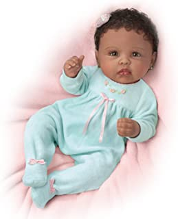 The Ashton-Drake Galleries Linda Murray So Truly Real Tiffany Weighted Poseable Baby Doll:by