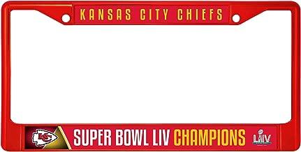 Rico Industries Kansas City Chiefs Super Bowl LIV Champions 2-Sided Car Flag w//Pole Auto Truck Banner Football Inc