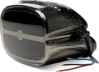 Bar Taillight w/Smoke Lens & Chrome Housing - Brake/Running/License Plate Light for Harley Davidson Street Glide - FLHX (2006-2014)