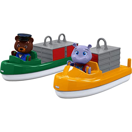 AQUAPLAY Speedboat with Puppet Toy